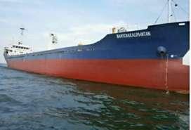 Jual kapal kargo th 2005.  DWT 3147. 40 T hub ibu heny via wa