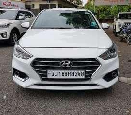 Hyundai Verna Fluidic 1.6 CRDi SX Opt AT, 2018, Petrol