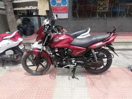 Auto india m red honda cb shine single owner up to date document