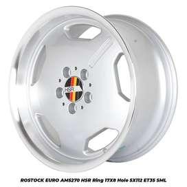 ROSTOCK EURO AM5270 HSR Ring 17X8 H5X112 ET35 SML