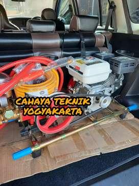 (CAHAYA TEKNIK JOGJA) steam mesin cuci motor mobil new ready ful set