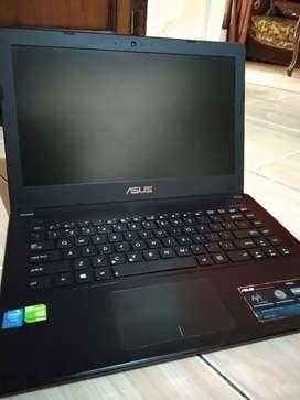 Laptop Asus core i5 dual vga Nvidia..spek gahar