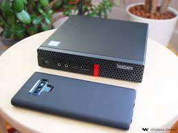 Some Time USED Lenovo core I3 6th gen 4gb ram 500 gb hdd  TINY CPU des