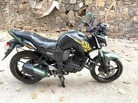 Yamaha FZ S Battle Green