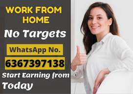 Stop wasting time!!! Start earning from today. Simple typing job