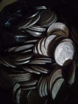 Uang logam lama campur2, ada 400keping