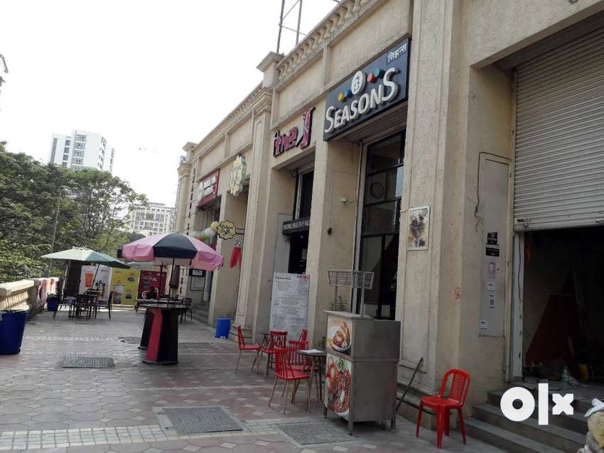rented shop at hiranandani meadows prime location 0