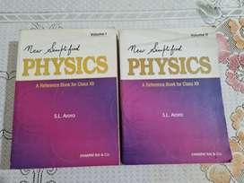 S. L. Arora Physics class 12 vol 1&2