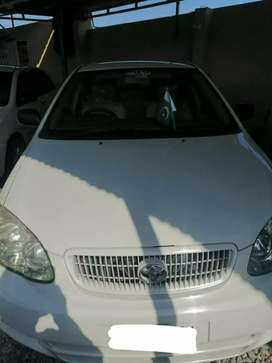 Toyota corolla xli 2007 model on installments