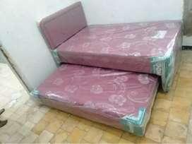 springbed type 2in1 atau sorong merk guhdo single bed siap antar ke lo