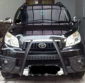Toyota Rush TRD 2013 Hitam Manual