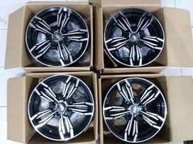 Velg HSR Ring 15 Lubang 4 cocok untuk Mobil Xenia Brio Sigra Ayla Vios