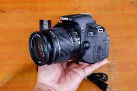 Canon 650d lensa kit 18-55mm is