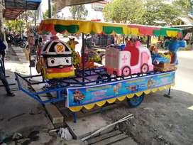 harga kereta panggung mini odong EK handboat fiber tayo