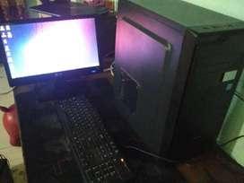 Komputer 1 Set Siap Pakai Ram 4 GB HDD 500 Gb