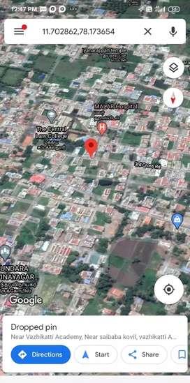 சேலம் சட்டக் கல்லூரி அருகில் 43*60 மனை விற்பனை