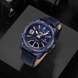 NAVIFORCE Fashion Causal Men Quartz Watch