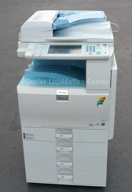 Ricoh A3 size laser color printer