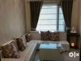 1200 sqfeet 3bhk luxury fully furnished flat near Vip Road Zirakpur