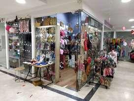 Running footwear shop  for sale  near commercial street