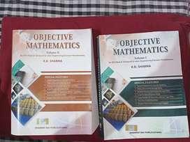 RD SHARMA math books volume 1&2