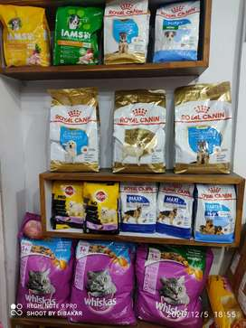 Pet food and accessories n all