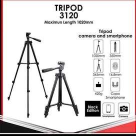 Tripod 3120 - Tripod Kamera Universal + Free Holder U dan Tas