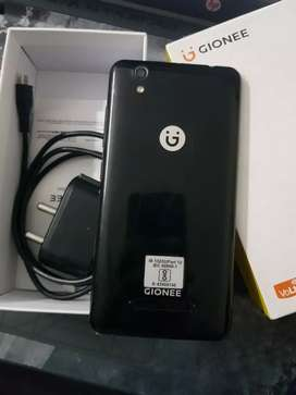 P5l Gionee 16Gb 4G Volte Phone with bill box and all acc.