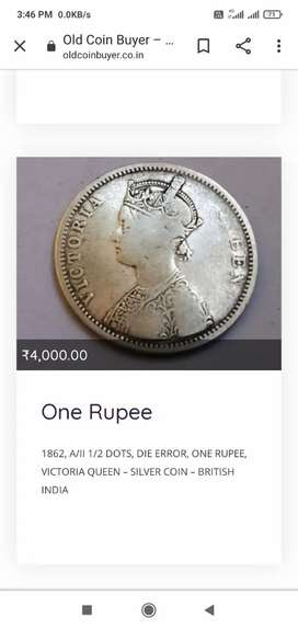 Coins British government Indian sliver and coper
