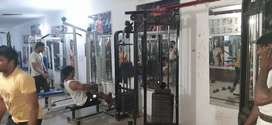running one year gym sell all working machin s