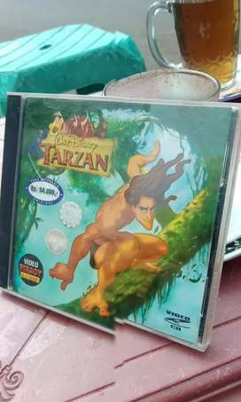Vcd original animasi TARZAN