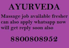 Hiring male candidate for massage service in all over India