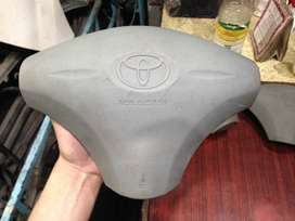 Steering Wheel Pad with (Airbag & Blaster) for Toyota Vitz 99-02