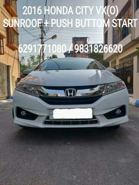 Honda City VX (O), MT, 2016, Petrol