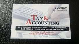 Provide part time. Accountant service