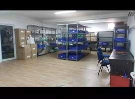 Di jual gudang di Tanjung pura harga 3,3 m nego