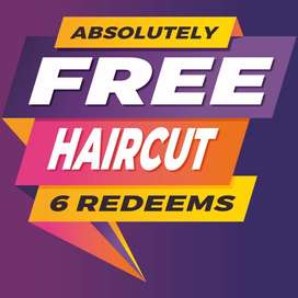 Your Haircuts FREE for next 1 year - Beauty parlour offer trivandrum