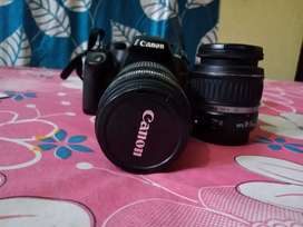 Canon DSLR Camera 1000D with 2 lenses Rs.5000/-