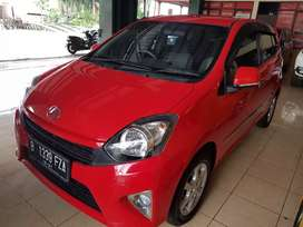 Daihatsu Ayla 1.0 X At 2016 Merah metalik