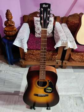 Branded Acoustic Guitar - Cort AD810 Made in Indonesia