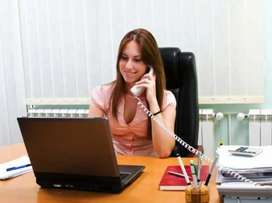 Reception jobs in Office freshers Experience can apply