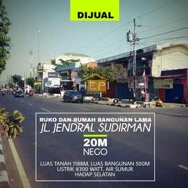 Tanah + Rumah Lama Lokasi Strategis Jenderal Sudirman Semarang