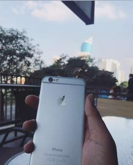For sale iphone 6 128 gb silver 95% mulus full se 1,6 jt