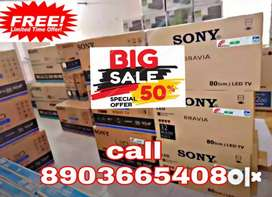 """50%DISCOUNT=SONY 32""""ANDROID 4K LED TV/ 2 years replace warranty/Li07"""
