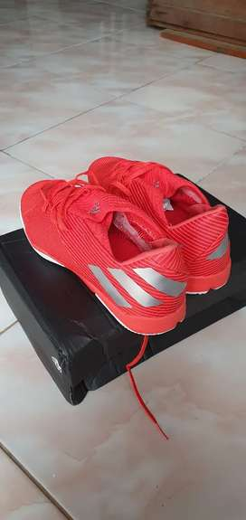 Sepatu Futsal Adidas Nemeziz solar red