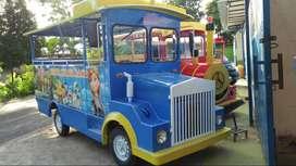 odong kereta mini mainan wisata labiirin mainan meja goyang DAP