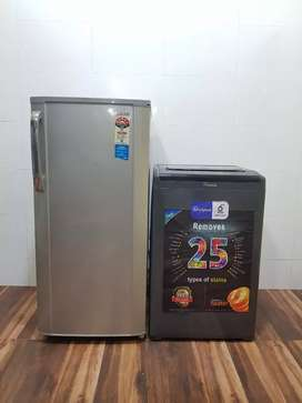 Combo offer available refrigerator and whirlpool  washing machine