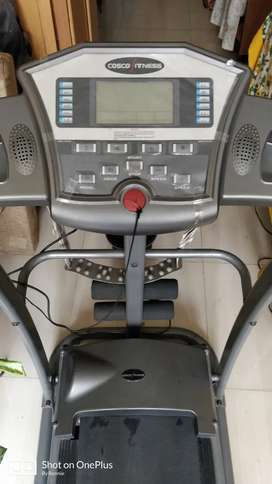 Motorised Treadmill 4 in One