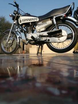 Honda 125 for sale in good condition pindi number