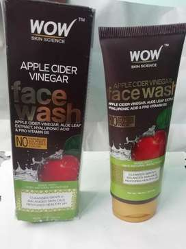 WOW, apple cider vinegar face wash